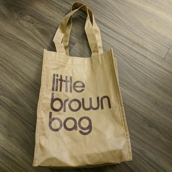 ec88f0bdc0 Bloomingdale's Handbags - Bloomingdales Little Brown Bag Small Reusable Bag